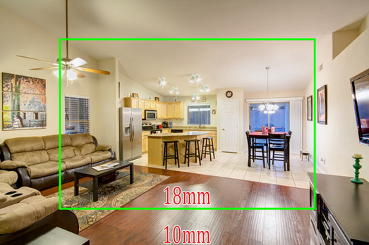 example of Wide Angle photography to sell your home