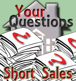 image of short sale questions and a house