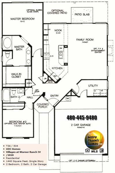 Warner ranch tempe floor plans warner ranch estates for True homes ranch floor plans