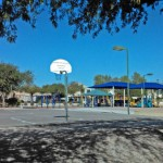 Photo of basketball courts in Sundance Park located in Warner Ranch Chandler/Tempe