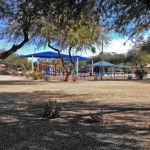 of a covered area and volleyball courts in Warner Ranch Chandler/Tempe