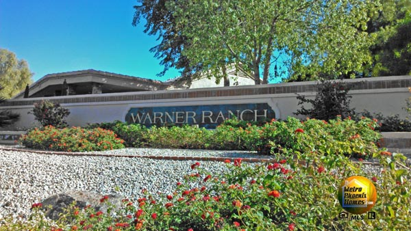 Picture of one entry into Warner Ranch Chandler