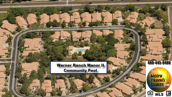 Picture of the Warner Ranch Manor II Pool and common area