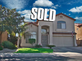 Picture of sold home by Metro Phoenix Homes
