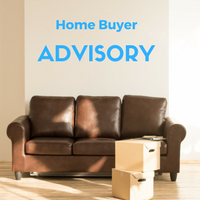 Graphic about home buying advisory