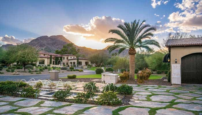 Luxury home in Paradise Valley