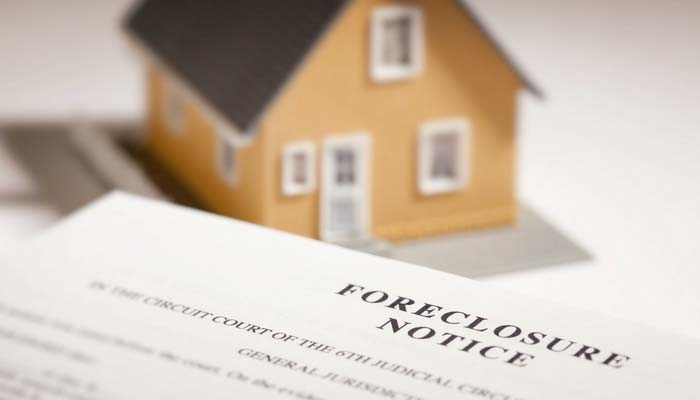 picture of foreclosure notice