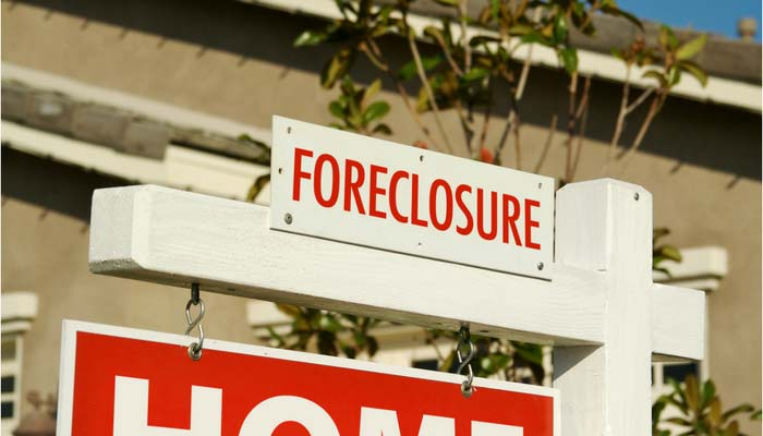 Foreclosure for sale sign in Metro Phoenix